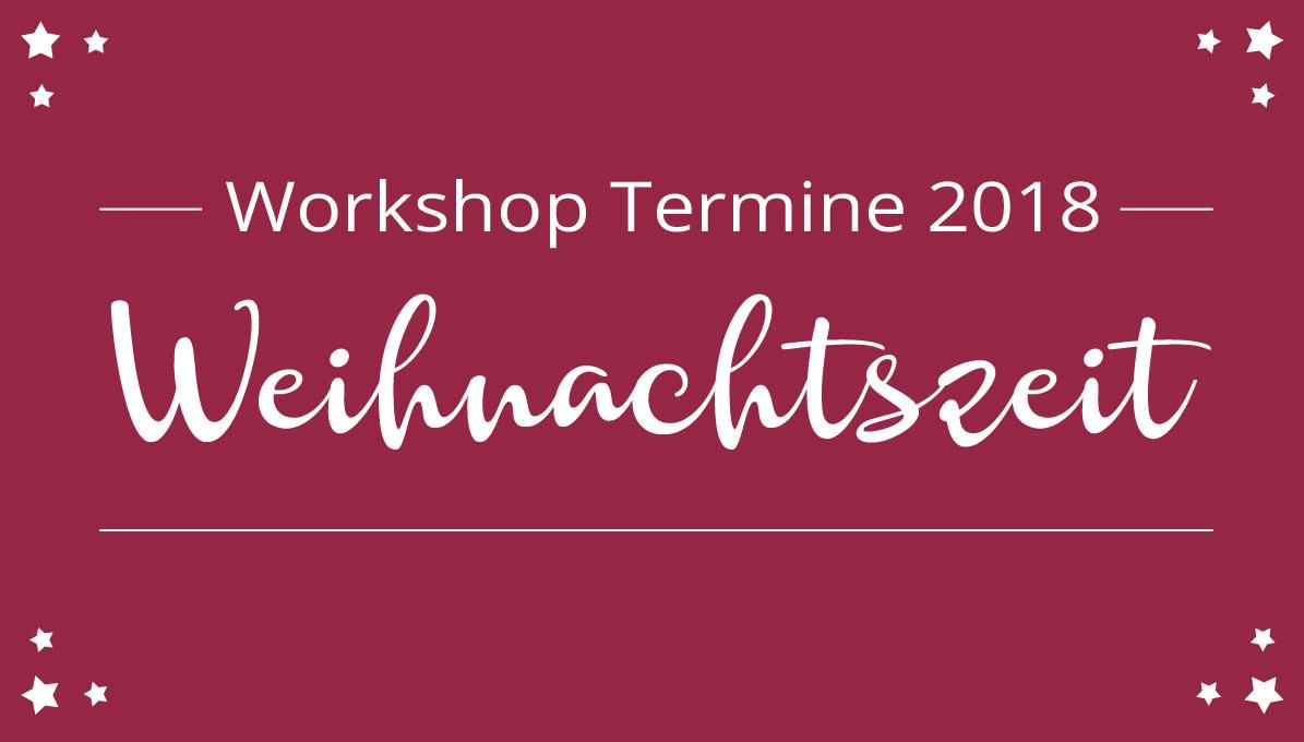 Weihnachtszeit Workshops bei Colorspell.de