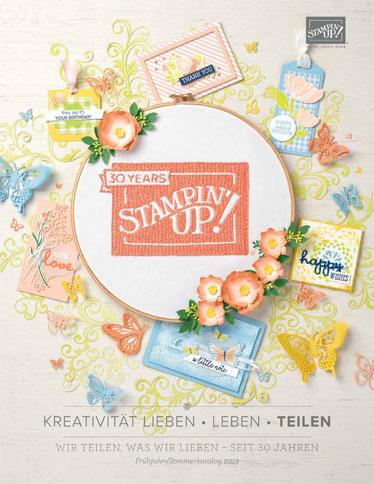 Stampin`UP! Frühjahr-/Sommerkatalog 2019