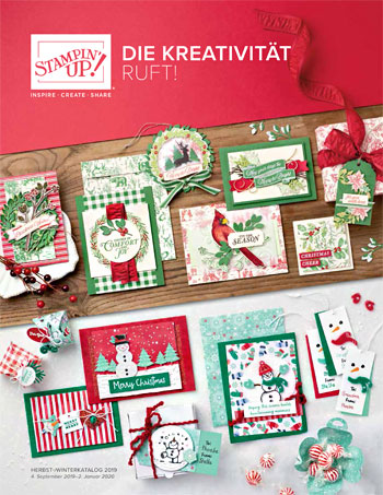 Stampin`UP! Herbst-/Winterkatalog 2019
