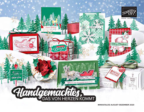Stampin`UP! Minikatalog Herbst-/Winter 2020